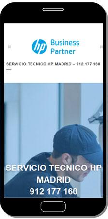 telefono servicio tecnico hp madrid